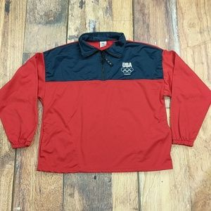 USA Olympic Team London Games Zippered Pullover